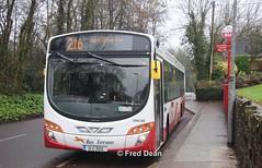 Bus Eireann VWL310 (12C3502). (Fred Dean Jnr) Tags: buseireannroute216 cork buseireann volvo b7rle wright eclipse2 vwl310 12c3502 clarkeshillcork february2019 wrightbus