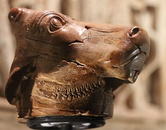 Ivory bull's head (calmeilles) Tags: london england unitedkingdom ashurbanipal britishmuseum assyria ancienthistory archaeology middleeast nineveh