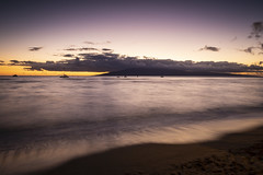 2019_01_11_Hawaii_Maui_5D-1669 (AbovetheLineEntertainment) Tags: hawaii maui canon5dmarkiv canon5d â©abovethelineentertainmentinc ocean pacific lanai sunset lahaina beach longexposure ©abovethelineentertainmentinc