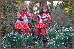 💗 Schneeglöckchen läuten im Park 💗 (Kindergartenkinder 2018) Tags: gruga park schneeglöckchen kindergartenkinder annemoni tivi valentinstag e