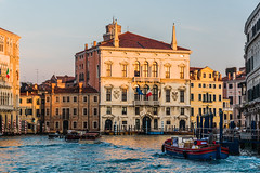 Palazzo Balbi, Venice, after sunrise (Gerry Lynch/林奇格里) Tags: architecture boats canal grandcanal houses italy venice exif:lens=2401200mmf40 exif:aperture=ƒ56 exif:isospeed=400 exif:make=nikoncorporation exif:focallength=78mm exif:model=nikond750 camera:model=nikond750 camera:make=nikoncorporation