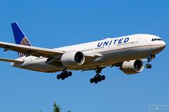 N57016 United Airlines B777-200ER, EGLL, United Kingdom (Sebastian Viinikainen.) Tags: n57016 unitedairlines egll londonheathrow b777200er united