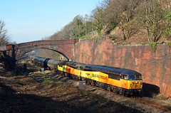 Addingford cutting (delticfan) Tags: 56049 56078 class56 horbury addingford colas bitumen