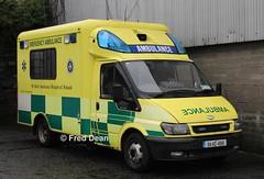 St. John's Ambulance Brigade Ford Transit (04KE4919). (Fred Dean Jnr) Tags: stjohnsambulancebrigade ford transit 125 t430 04ke4919 broadstonedepotdublin february2013