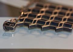 Classic and Simple (janano2010) Tags: classic simple macromondaysjewellery shiny limitededition geometric intricate contemporary macro diamondshape
