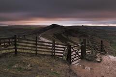 Mam Tor, Peak District (tbabetzki) Tags: colourfulsky landscape rollinghills derbyshire peakdistrict