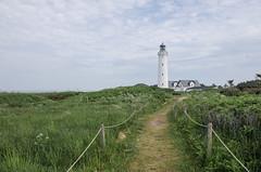 Lighthouse (AstridWestvang) Tags: coast denmark hirtshals lighthouse nature path