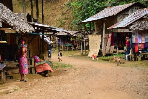 Ban Mai Nai Soi Karen village (Northern Thailand 2018)