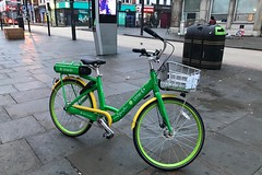 Lime-E (Sam Tait) Tags: london city bike bicycle cycle hop off hire day hour push street road self ride drive limee green deckles share e electric assist smart mobility gps tracker tracked