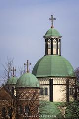 St. Catharines Ontario 2019 (John Hoadley) Tags: stscyrilmethodiusukrainiancatholicchurch stcatharines ontario 2019 february canon 7dmarkii 100400ii f63 iso200 church steeple
