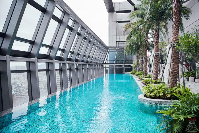 板橋凱薩大飯店游泳池