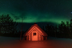 Aurora Borealis (oleadam) Tags: auroraborealis northernlights arctic lapland finland travel nighttimephotography