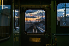 Way to Home (CMGS1988) Tags: 室兰市 北海道 日本 jp national japan train weather sunset sky