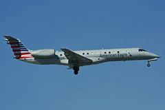 N855AE (American Eagle - Envoy Air) (Steelhead 2010) Tags: americanairlines americaneagle envoyair embraer crj erj140 yyz nreg n855ae