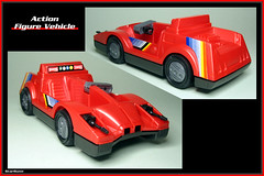 Arco - Action Figure Vehicle  02 (StarRunn) Tags: arco actionfigurevehicle toy car 118scale 1980s futuristic sf sciencefiction