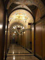 U.S. Capitol Hallway (doadoodle) Tags: hallway uscapitol capitol capitolhall capitolhallway walking narrow marble light lighting passage capitolhill unitedstates government us unitedstatescapitol