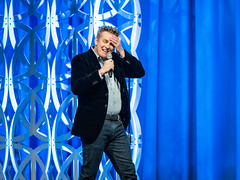 Brian Regan (Bryan Esler Photo) Tags: blue laughfest brianregan comedy gildasclub comedian stage em1x 300mm