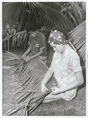 Weaving, Rarotonga 1969