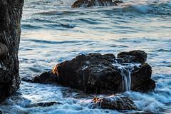 Gazos Creek State Beach, CA. (j1985w) Tags: california gazoscreekbeach rocks ocean water sunset