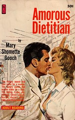 Newsstand Library U171 - Mary Shomette Gooch - Amorous Dietitian (swallace99) Tags: newsstandlibrary vintage 60s sleaze paperback robertbonfils