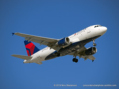 Delta Airlines A319 (ConcordeNick ArtPhoto) Tags: aircraft airplane airliner flight flying aviation aviationphotography transport transportation travel airbus a319 delta deltaairlines concordenickartphoto concordenickartphotozenfoliocom olympus e5