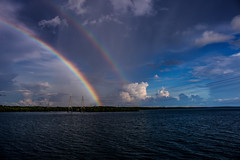 Rainbow (betadecay2000) Tags: rainbow channelislandbridge darwin northernterritory australia weer meteo weather wolken cloud clouds wolke outback hell northern territory notthern austalien austral australie aussie oz