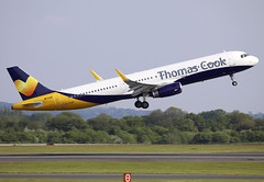 G-TCVD (QC PHOTOGRAPHY) Tags: manchesterairport england may 19th 2018 thomas cook airlines monarch cs a321200wl gtcvd