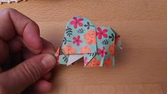 """Elefante"" Creato nel 2017. È necessario fare un po' di reverse engineering per recuperare le proporzioni dei passaggi di finitura. --------------------------------- ""Elephant"" Created back in 2017. Some reverse engineering needed in order to retrieve the (Nocciola_) Tags: elephant paperart cartapiegata elefante createdandfolded papiroflexia paperfolding originaldesign danielacarboniorigami paper origami"