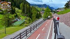 Radweg in St. Christina (Sanseira) Tags: christina italien italy gröden radweg fahrradweg st