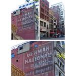 Pittsburgh  Pennsylvania  - Granite Building aka - German National Bank  - Hand  Painted Ghost Sign  -  Forbes Hotel thumbnail