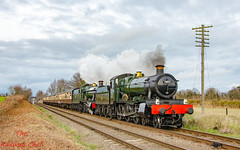 6990 & 7802 (LMSlad) Tags: great central railway winter 6990 witherslack hall 460 gwr collett 7802 bradley manor quorn