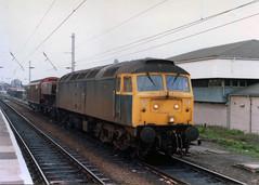 47322 WBQ 8-5-85 (6089Gardener) Tags: wcml warringtonbankquay 47322 class47
