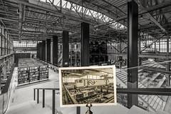 Stadsfoto januari 2019. Tilburg in Transitie, drieluik a LocHal