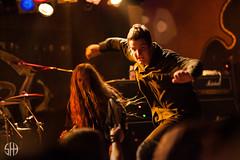Obituary (Shane Henderson Fotograf) Tags: 2013 australia autumn concert donaldtardy esplanadehotel gershwinroom gigs heavymetal johntardy livemusic melbourne obituary terrybutler theespy trevorperes victoria deathmetal extreme liveband stkilda