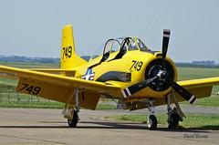 North American T 28A-NT  n° 174-602 / 51-7749  ~ F-AZHR / 749 (Aero.passion DBC-1) Tags: 2006 meeting cambrai dbc1 david airshow biscove aeropassion avion aircraft aviation plane north american t28 517749 ~ fazhr 749