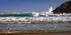 February Poldhu Waves (mqmquilter) Tags: coast coasts cornwalllizard nationaltrust