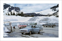 Vehicle Collection (9503) - Ford (Steve Given) Tags: familycar motorvehicle automobile ford tourists snow 1960s