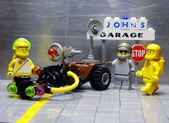 Honest John's Rover - Febrovery 2019 14 (captain_j03) Tags: toy spielzeug 365toyproject lego minifigure minifig moc febrovery space rover car auto honestjohn