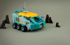 FebRovery 2019 Day 18 (TFDesigns!) Tags: lego space rover febrovery octopusalien alien octopus