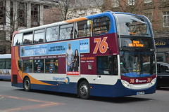 Stagecoach Manchester 10047 MX12LWN (Clifton009) Tags: stagecoach manchester 10047 mx12lwn adl e40d enviro 400