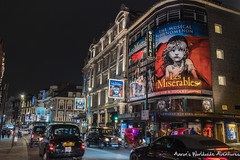 West End Theaters (adventurousness) Tags: night photography nighttime london england britain great gb greatbritain nightphotography