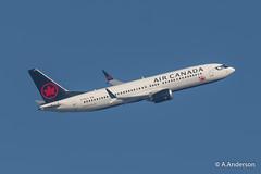 Boeing 737Max8 C-FSJJ AirCanada 20190223 Heathrow (steam60163) Tags: heathrow heathrowairport aircanada boeing737 boeing737max8 max8