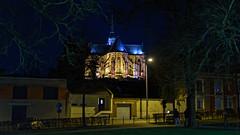 Promenade nocturne II (Alexandre LAVIGNE) Tags: champselysées pentaxk1 smcpentaxfa50mmf14 saintquentin 2019 basilique hiver ambiance k1 lampadaires lumière nature night nuit urbain ville picardiehautsdefrance