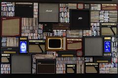 Inside the O2 (Hattifnattar) Tags: london o2 tracks pentax fa43mm limited vinyl records epiphone marshall peavey gibson