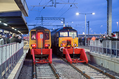 On the blocks (daveymills37886) Tags: northern 156 440 drs 57307 blackpool north dmu class 57 573 pathfinder tours blue boys loco fest direct rail services