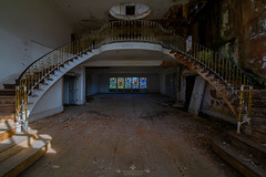 London Mansion (Alex Burnells Photography) Tags: abandoned urbex decay forgotten london dark
