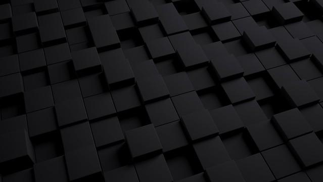 Обои куб, темный, текстура, формы картинки на рабочий стол, фото скачать бесплатно