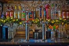 Choices (Jim Nix / Nomadic Pursuits) Tags: jimnix austin downtown bar alcohol beer pub sony sonya7ii luminar skylum 50mm primelens