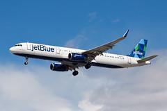 jetBlue Airbus A321 N945JT (jbp274) Tags: airport airplanes las klas mccarran jetblue b6 airbus a321