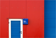 13 (HWHawerkamp) Tags: buesum germany industry facade building architecture graphics colours colourcontrast abstract travel doors